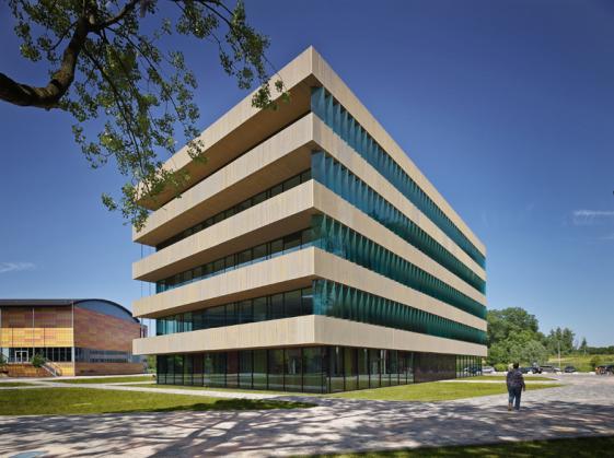 Het Matrix VI gebouw op het Amsterdamse Science Park